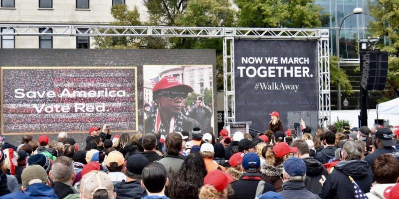 Highlights from the #WalkAway Rally [videos]