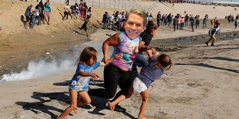 Bob Mann Takes The Gas On Border Bloviating