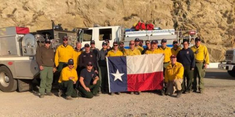 Texas firefighters share photos from battling deadly California wildfires