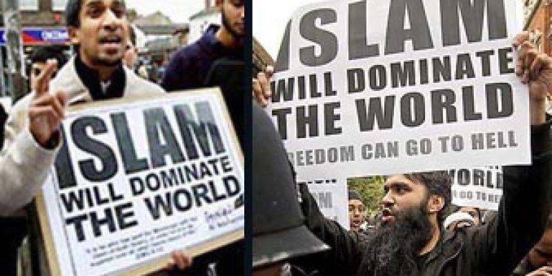 Islamic leaders explain goal of Islam is world domination [video]