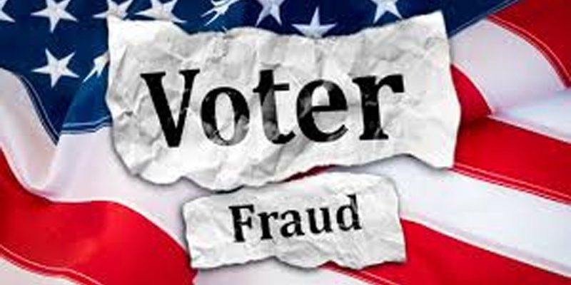 Voter Fraud in action [video]