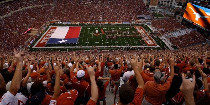 University of Texas sports programs took in $210.4 million in 2018– the most in the U.S.