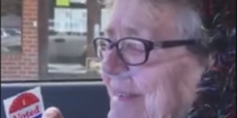 Texas: 82-year-old great-grandmother votes for first time [video]