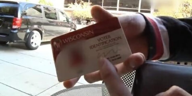 VIDEO: University of Wisconsin Hands Out Voter ID's to Foreign Nationals So They Can Vote