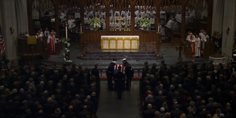 Former President George H. W. Bush remembered at St. Martins Episcopal, Houston [videos]