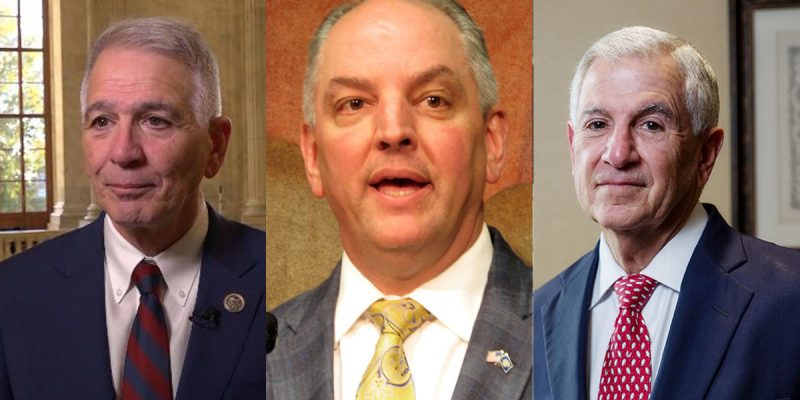 So Who's Got The Most Cash In The Campaign Bank Among Louisiana's Gubernatorial Candidates?