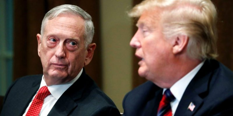 "READ: General ""Mad Dog"" Mattis Resignation Letter"