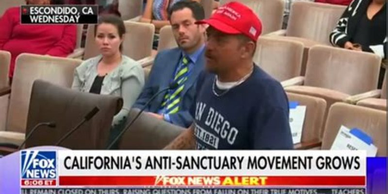 Legal immigrant and proud US citizen goes off on illegal immigration supporters [video]