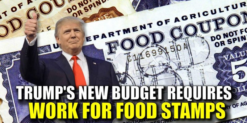 Trump to states: can't waive work requirement to receive food stamps