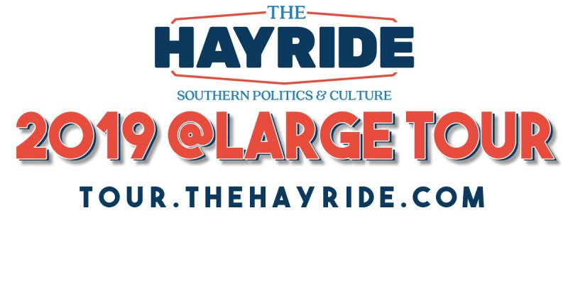 Only Seven More Days Until The Hayride's 2019 @Large Tour Stop In Baton Rouge…