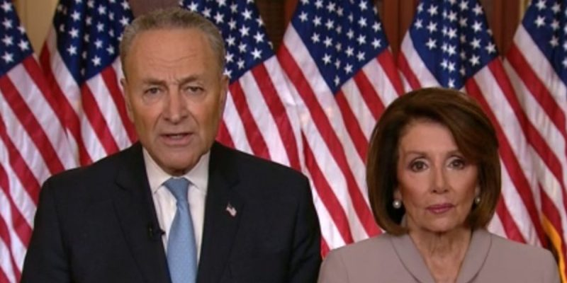 The Internet Had Fun With Chuck Schumer And Nancy Pelosi's Response Last Night