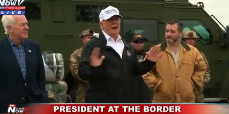 Highlights from Trump's visit to Texas and major support for border wall [videos]