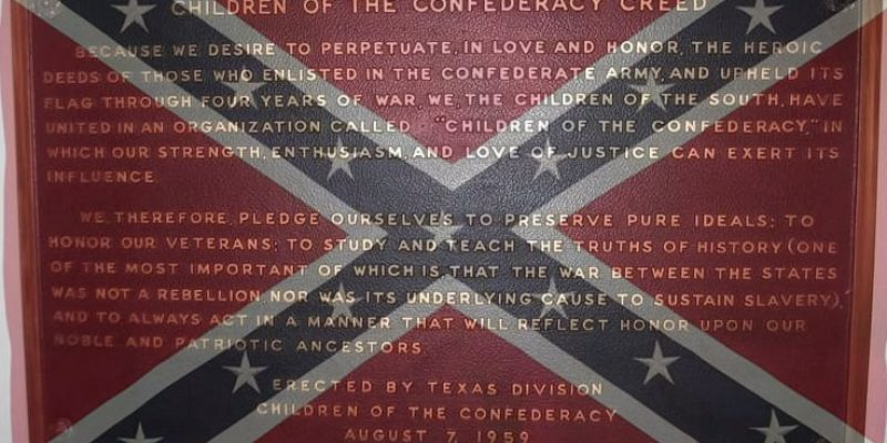 Confederate Memorial Removal: This Texas Legislative Session's 'Bathroom Bill?'