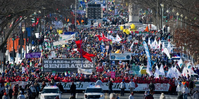 The 46th Annual March For Life And Louisiana Life Marches