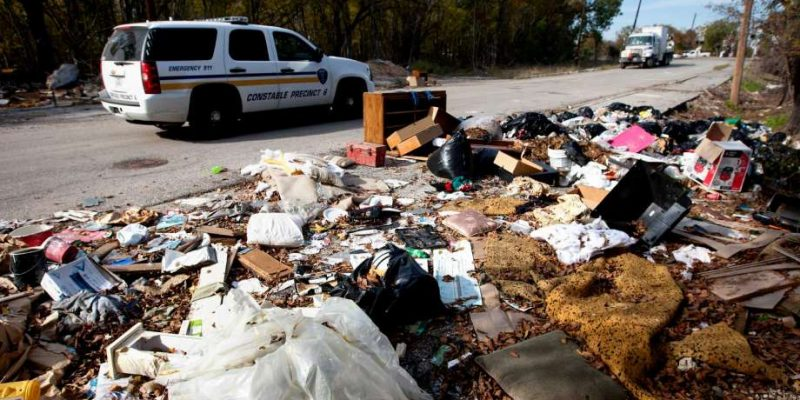 Increases property taxes in Houston, still no trash pick-up