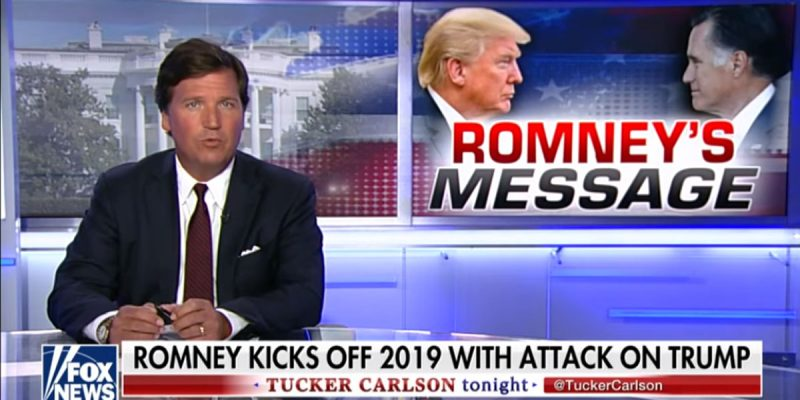 VIDEO: Tucker Carlson Drops A Little Social Justice On Mitt Romney
