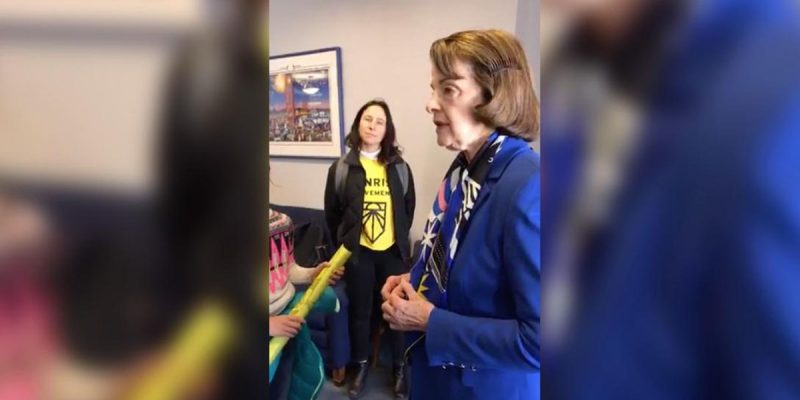 APPEL: Dianne Feinstein, The Green New Deal And A Frightening Future