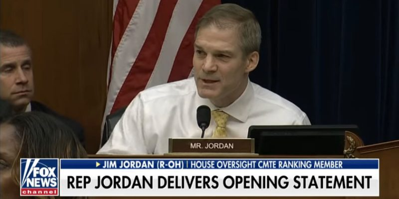 VIDEO: Jim Jordan Eviscerates Democrats For Cohen Testimony