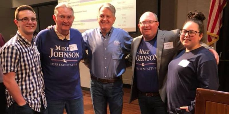"""Pineville Mike"" Johnson Heads Up Trio Of New GOP Winners In House Special Elections"