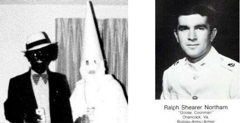 Photo Shows Virginia Gov. Northam In Blackface or KKK Hood