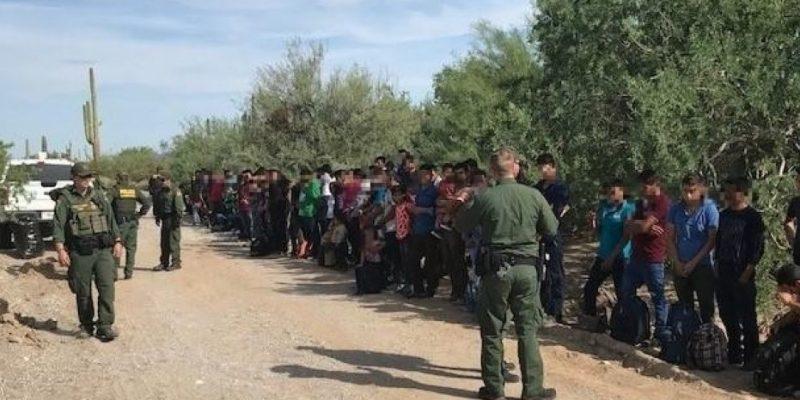 SICK and CRAZY: 1700 Illegal Aliens reach Texas border [videos]