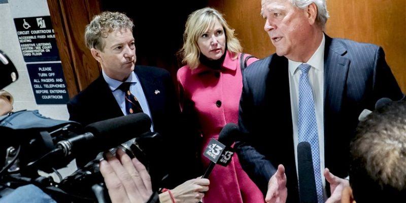 Senator Rand Paul Awarded $580,000 In Assault Lawsuit