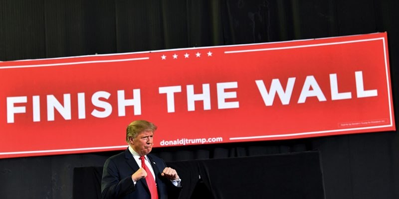 Trump Declares Emergency, Redirects $8B For Wall