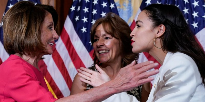 Pelosi, AOC Warn Moderate Dems Not To Vote With GOP