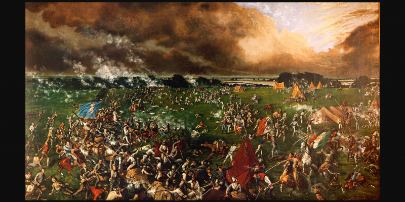 Texas became its own country after a battle that lasted only 18 min. [videos]