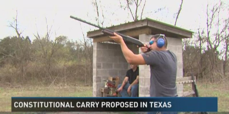 Constitutional carry bill is on life support in Texas