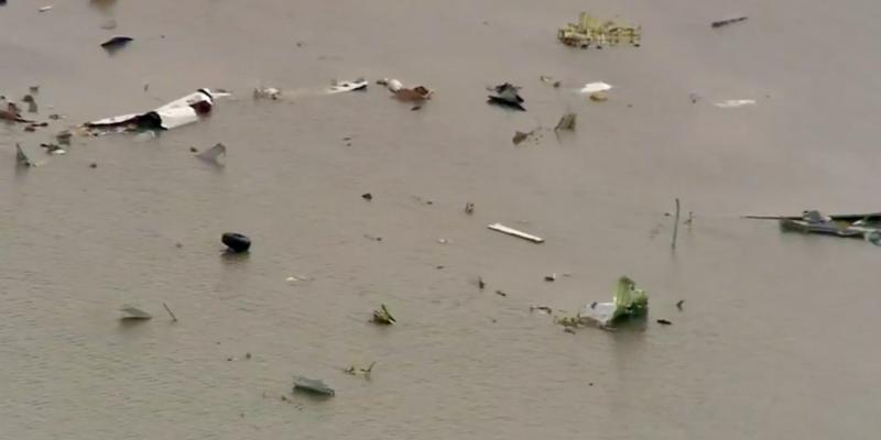 Third body found, both black boxes, from Amazon Atlas crash in Houston area [videos]