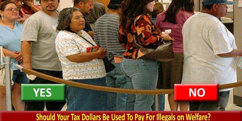 Yes Illegals are receiving welfare benefits; Trump rule change could limit it