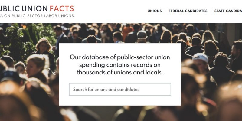 New site tracks $1.5 billion in public union political spending over two decades