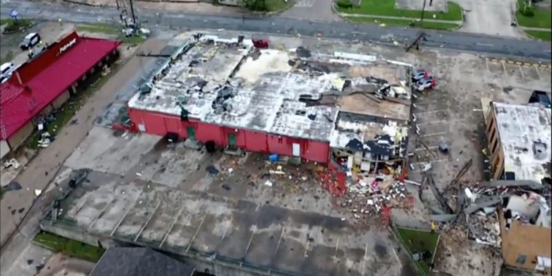 VIDEO: Ruston Got Hit With A Pretty Big Tornado This Morning