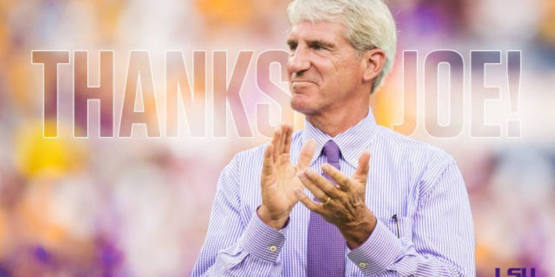 The Wheels Are Definitely Turning At LSU, And Joe Alleva Is Out