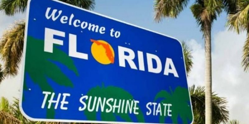 Florida ranks 5th lowest for state tax collections per capita