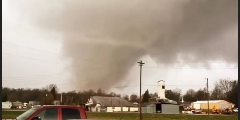 "40 children sang ""Jesus Loves Me"" while tornado ripped off roof, all survived [video]"