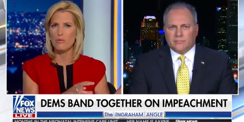 Scalise On Laura Ingraham: Impeachment Has Been Dems' Plan Since Day One