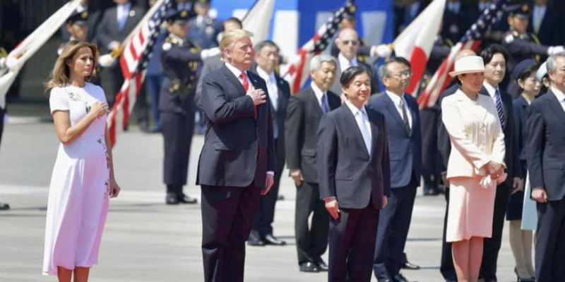 Trump Becomes First World Leader To Meet Japanese Emperor