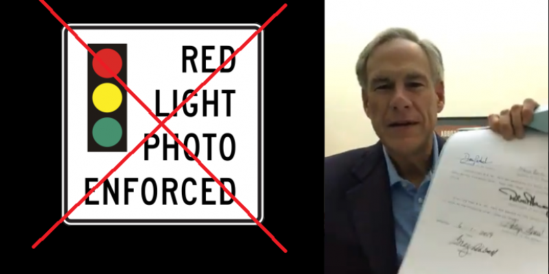 Red Light Cameras In Texas: Gone In 25 Seconds
