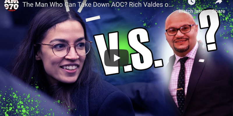 American could have relief from AOC if this guy runs against her [audio]