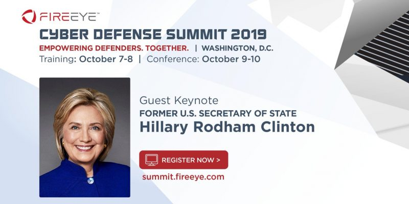 WHAT: Hillary Clinton Will Keynote Cyber Security Conference