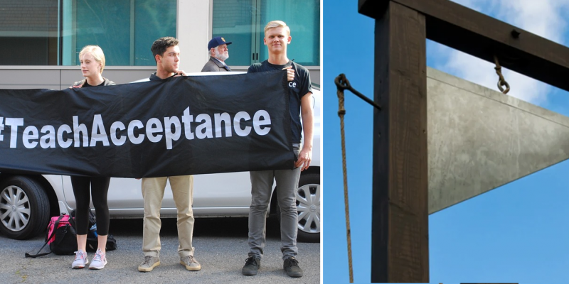 All-LGBT Campus Radical Group Calls For Return Of Guillotine For 'Traitors'
