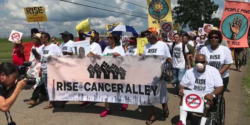 """The """"Death Alley"""" Protesters Didn't Get To Block The I-10 Bridge In Baton Rouge This Weekend"""