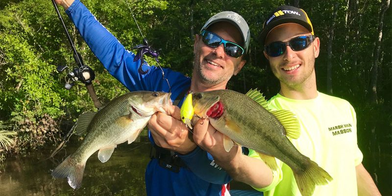 MARSH MAN MASSON: Early Start On Explosive Bass, Panfish Action