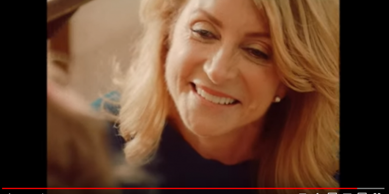 Wendy Davis Makes Congressional Run Official-Official 3 Weeks Late, With Softer Image Video