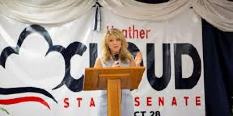 Senate Candidate Heather Cloud Vows To Fight High Insurance Rates