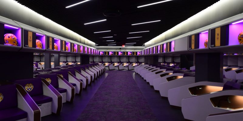 LSU's Unveiling Of Its New Football Locker Rooms Brought Out All The Idiots