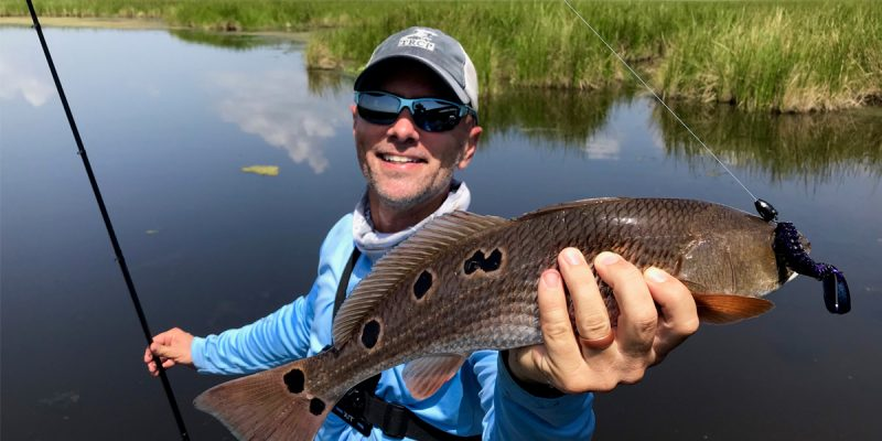 MARSH MAN MASSON: Successful Redfish Hunt In New Water