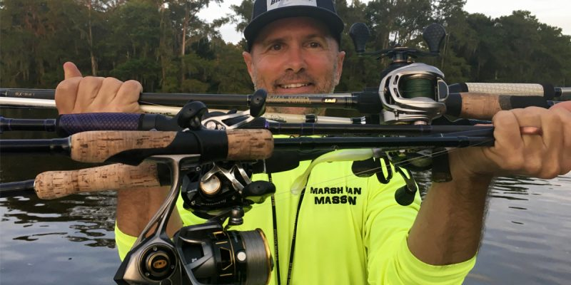 MARSH MAN MASSON: Six Rods And Reels You Need For Marsh Fishing